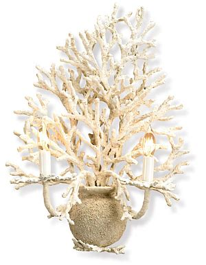 coral wall sconce coral chandelier new larger size the designer insider