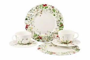 Rosenthal Geschirr Set : rosenthal brillance fleurs sauvages geschirr set 6 teilig mit fahne g nstig online kaufen ~ Eleganceandgraceweddings.com Haus und Dekorationen