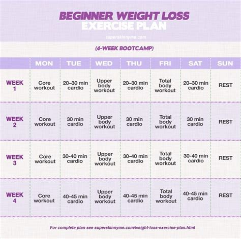Garden Of Weight Loss Plan 25 best ideas about beginner workout plans on