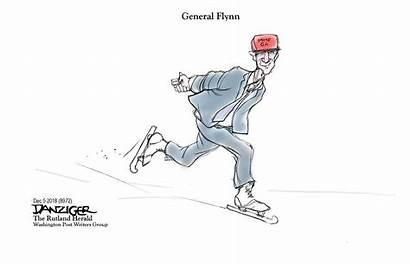 Political Flynn Cartoon Michael Cartoons Skates Danziger