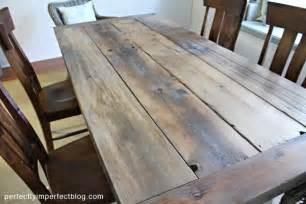 farmhouse table plans finishing tips floor sealants