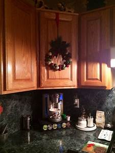 How To Hang A Wreath On A Kitchen Cabinet