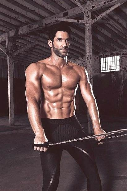 Ellis Tom Looking Muscle Shirtless Photoshoot Anatomy