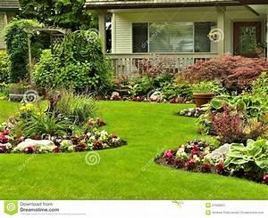 Garden Design Flower Bed Landscape Edging Ideas Beds Front ...