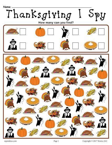 thanksgiving i spy free printable thanksgiving counting