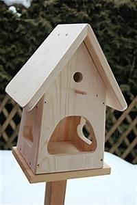 Vogelhaus Bauen Mit Kindern : dekorativer nistkasten nb2 mit vogelfutterhaus zum selbst ~ Lizthompson.info Haus und Dekorationen