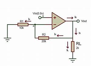 Operational Amplifier Inverting And Noninverting