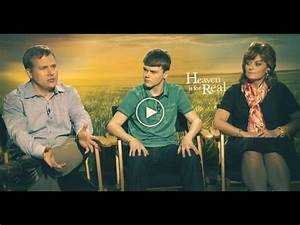 HEAVEN IS FOR REAL Interview; feat: The Burpo Family - YouTube