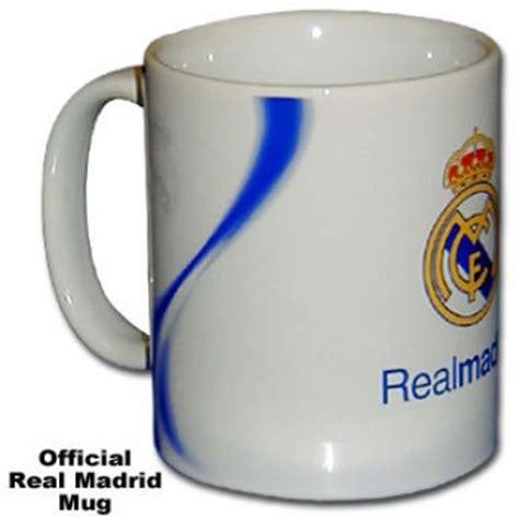 Real Madrid Mug Official Real Madrid Crest Coffee Mug