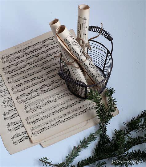 diy christmas sheet  decor  fresh pine