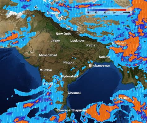 india weather forecast week april 5th north northwest 29th skymet analysis