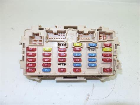 used nissan x trail t30 2 2 dci 16v 4x2 fuse box