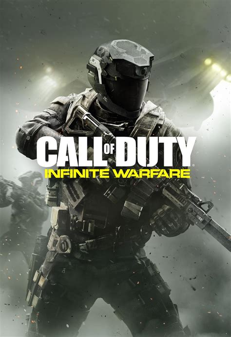 call  duty infinite warfares cover art