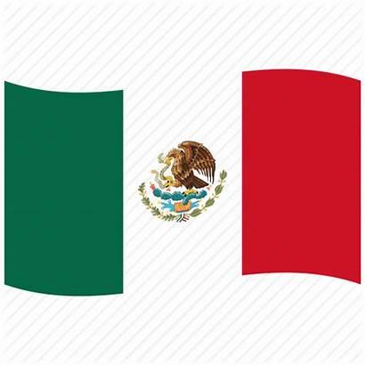 Flag Mexican Mexico Waving Icon Clipart Mx