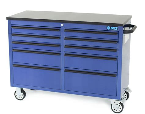 drawer heavy duty blue power coated stainless steel