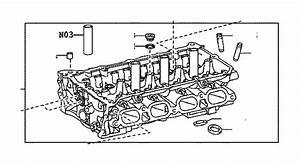 2003 Toyota Rav4 Head Sub