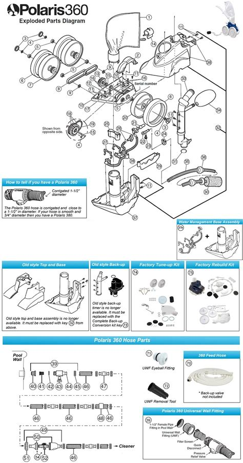 polaris  pool cleaner parts