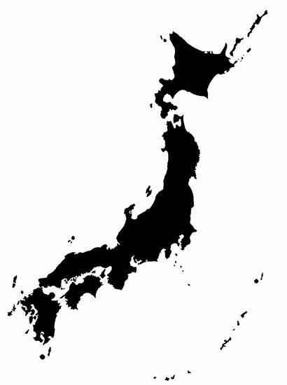 Japan Map Japanese Clipart Transparent Mart