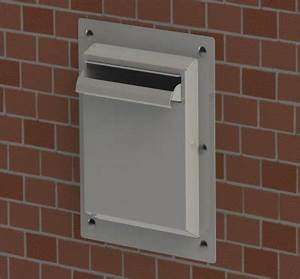 wall mounted a4 document drop off cabinet a r engineering With secure document drop box
