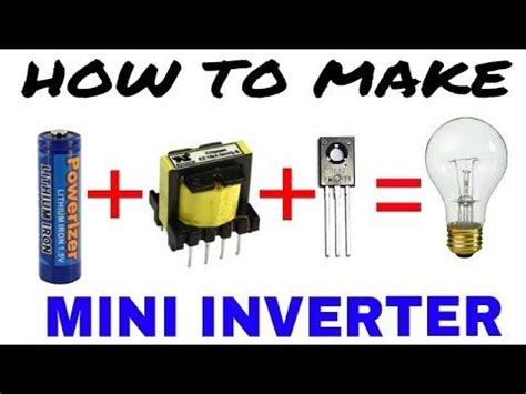 battery   ac inverter youtube