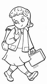 Uniform Coloring Drawing Going Pages Military Children Backpack Getdrawings Getcoloringpages Kindergarten Field Ir Grade sketch template