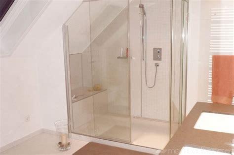dusche unter dachschräge begehbare dusche dachschr 228 ge kleine begehbare dusche