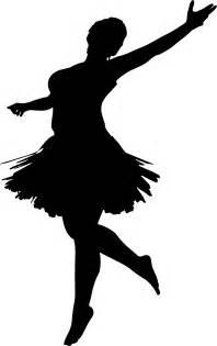 Girl Ballerina Silhouette Clip Art