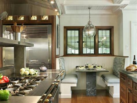 stunning kitchen booths  banquettes hgtv