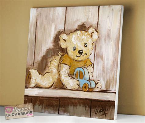 cadre chambre bébé garçon deco chambre bebe garcon ourson