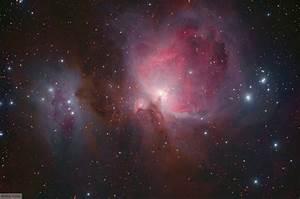 M42, Orion Nebula, Running Man Nebula, NGC 1977, DSLR images