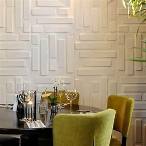 Esszimmer Gestalten Wände : wandpaneele eine trendige tendenz bei der wandgestaltung ~ Buech-reservation.com Haus und Dekorationen