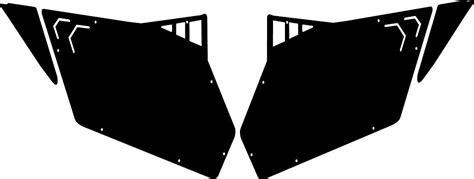 Trail Armor Door Template 14 15 1000 rzr polaris pro armor door templates