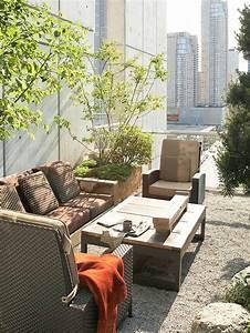 10 ideen fur balkon und dachterrasse grune oase in der With markise balkon mit stadt tapete