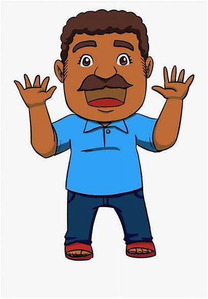 Dad Father Clipart Indian Cool Cartoon Son