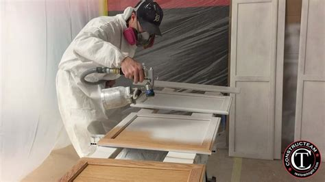 spraying kitchen cabinet doors constructeam gallery constructeam 5663