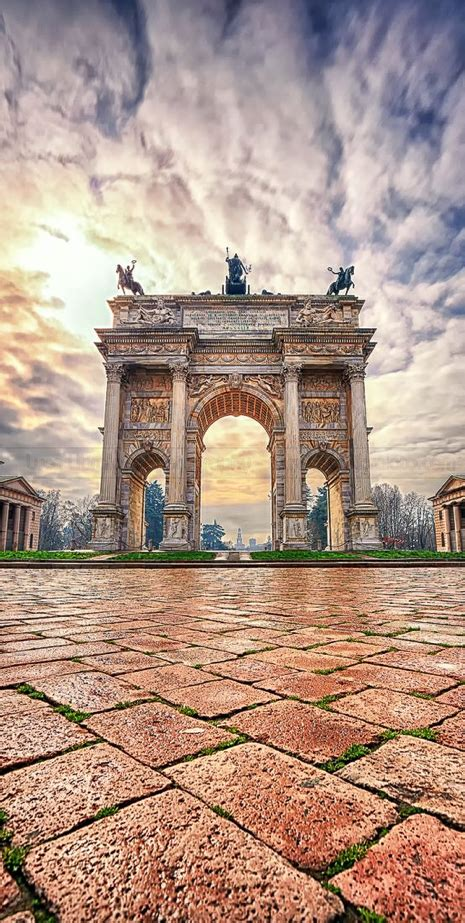 Porta Sempione Milan Italy Travel Places