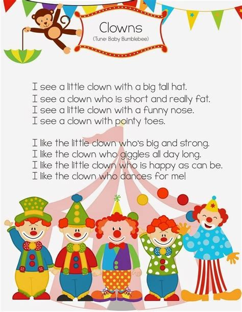 91 best carnival circus preschool theme images on 961 | ee0a14f5f9334326e86985f2cbc3fba6
