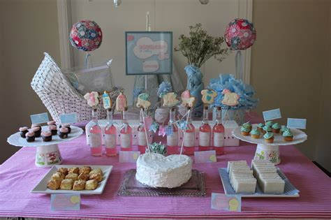 decoracion de mesa para baby shower mesa decorada para baby shower imagui baby shower