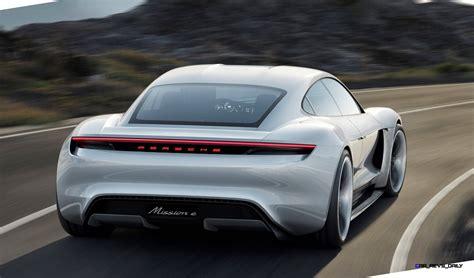 Mission E by 3 5s 2015 Porsche Mission E 600hp Concept Is 4 Door