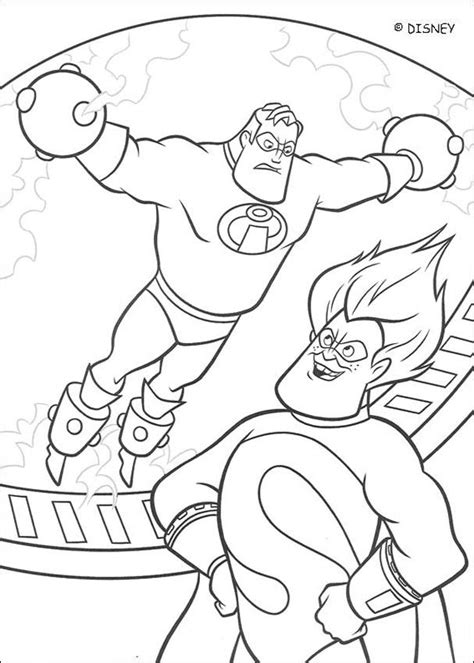 incredibles  coloring pages hellokidscom