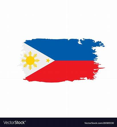 Flag Philippines Vector Royalty Vectorstock