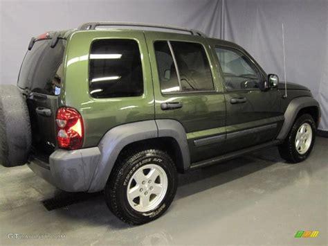 dark green jeep liberty 2006 jeep green metallic jeep liberty sport 4x4 26355722