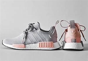 Fashion Nmd R1 Raw Gray Pink Womens Casual Shoes On Storenvy