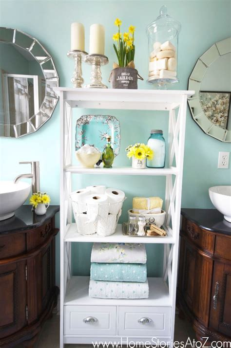 sherwin williams watery bathroom makeover home stories a