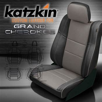 Jeep Seat Upholstery Kits by Jeep Grand Katzkin Leather Seat Upholstery Kit