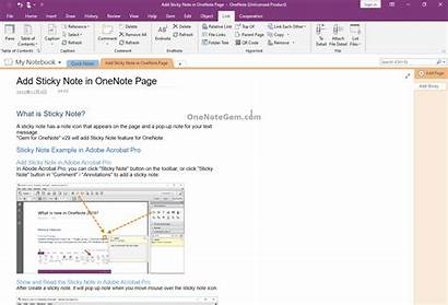 Onenote Gem Toc Collapsible Demonstration Collapse Table