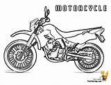 Coloring Motorcycle Colouring Motorcycles Pages Cool Ktm Boys Yescoloring sketch template