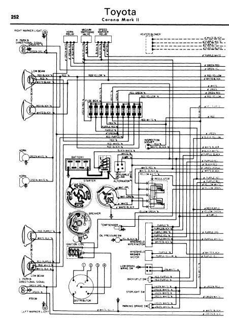 Repair Manuals Toyota Corona Mark Wiring Diagram