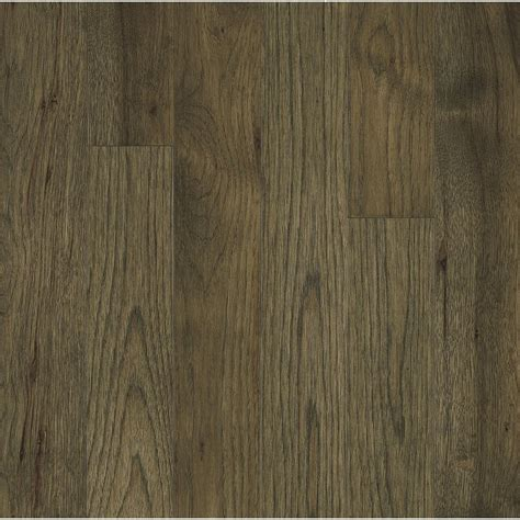 hickory solid hardwood flooring bruce america s best choice 3 25 in prefinished hickory evening shadow solid hardwood flooring