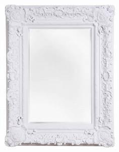 Spiegel Mit Weißem Rahmen : palermo spiegel mit wei em barock rahmen ~ Whattoseeinmadrid.com Haus und Dekorationen